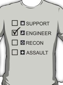 Engineer, Battlefield T-Shirt
