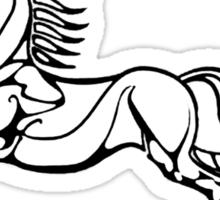 Save a horse... Ride the Rohirrim! - Black Sticker