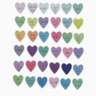 Mini sassy hearts – master collection by Sam Asselman