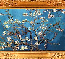 Almond Blossom by Vincent van Gogh by ColorPalette