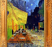 Cafe Terrace at Night by Vincent van Gogh by ColorPalette