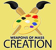 Weapons of mass creation - Yellow by Adamzworld