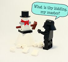 What is thy bidding master? by timkirman