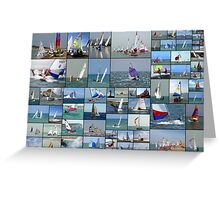 Newhaven & Seaford Sailing Club Collage Greeting Card