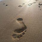 Footprints in the Sand by Ellaaa M