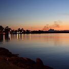Twilight at Chinderah .. by gail woodbury