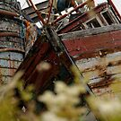 Old Fishing Boats, Salen by Matthew Walters