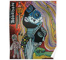 Dreaming of Mardi Gras Poster