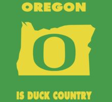 NCAA Oregon Country Shirt by Plataduc