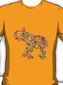 Abstract Elephant Illustration T-Shirt