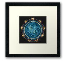 Starry Gate Framed Print