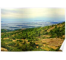 Cadillac Mountain, Acadia National Park, Maine, USA Poster