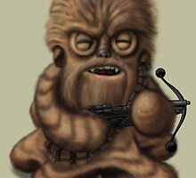Chewbacctopus by Octomanart