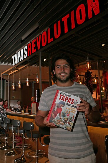 Omar Allibhoy promotes his new book Tapas Revolution by Keith Larby