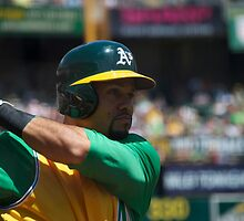 Coco Crisp by doctorwoods