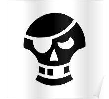 Pirate Skull Ideology Poster