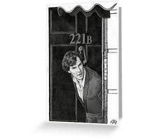 221b Greeting Card
