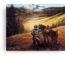 Wolfcreek Pass Canvas Print