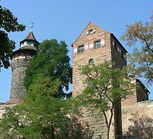 Torre de Castillo de Nuremberg. by cieloverde