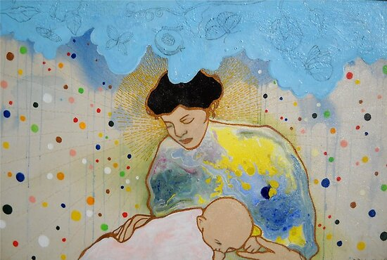 Mother and Child by artbytego