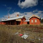 Lue Railway Station, New South Wales, Australia 2009 by muz2142