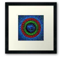 Name Mandala CATHLEEN Framed Print