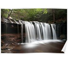 Oneida Waterfall Wearing A Summer Veil Poster