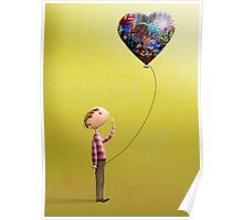 The Coloured Balloon Poster