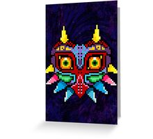 Majora's Mask Poster Greeting Card