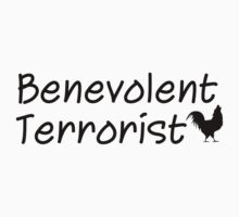 Benevolent Terrorist (Black Print) by gypseian