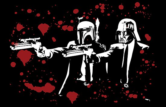 "Darth Vader - Say ""What"" Again! Version 1 (Blood Splatter) by KAMonkey"