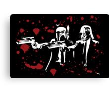 "Darth Vader - Say ""What"" Again! Version 1 (Blood Splatter) Canvas Print"