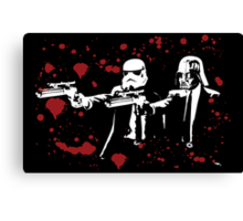 "Darth Vader - Say ""What"" Again! Version 3 (Blood Splatter) Canvas Print"