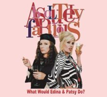 Absolutely Fabulous Patsy Stone and Edina Monsoon by ZombieWest