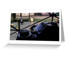Canon A-1 (w/Canon FD 135mm lens) Greeting Card