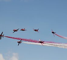 The Red Arrows by Theresa Selley