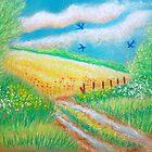 """paysage..série """"les 3 hirondelles"""" :) by karina73020"""