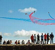Red Arrows, Dawlish by Beverley Barrett