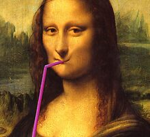 Mona Lisa Cola by Vlavo