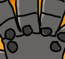Fullmetal Hand Sticker