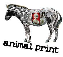 Animal Print (white logo) by Vlavo