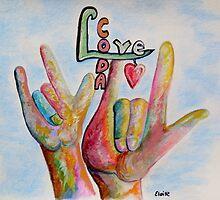 CODA - Children of Deaf Adults by EloiseArt