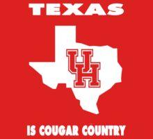 NCAA Houston Country Shirt by Plataduc