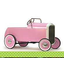 Pink Hot Rod by papierGrace