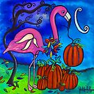 The Fall Flamingo by Juli Cady Ryan
