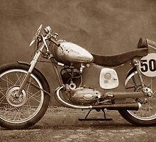Motorcycle   Puch 125 SL Baujahr 1952 by Gabi Siebenhühner