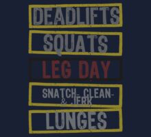 LEG DAY! by Generation Muscle