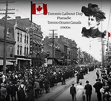 ▂ ▃ ▅ ▆ █ LABOUR DAY PARADE 1900s TORONTO ONTARIO CANADA █ ▆ ▅ ▃ by ╰⊰✿ℒᵒᶹᵉ Bonita✿⊱╮ Lalonde✿⊱╮