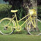 Yellow Bicycle by Caroline Fournier