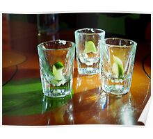 Empty Tequila Shots Poster